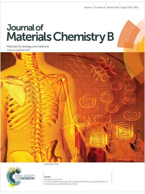 JournalOfMaterials ChemistryB