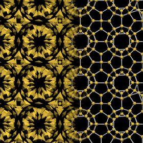 PyramidShapedGoldNanoparticlesAssembleIntoComplexCrystals