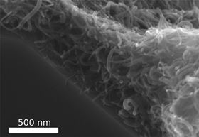 CarbonNanotubeFeltIncreasesMaterialStrength